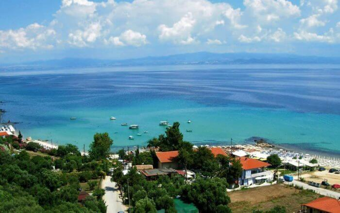 Transfers Thessaloniki Airport SKG to Afitos Halkidiki