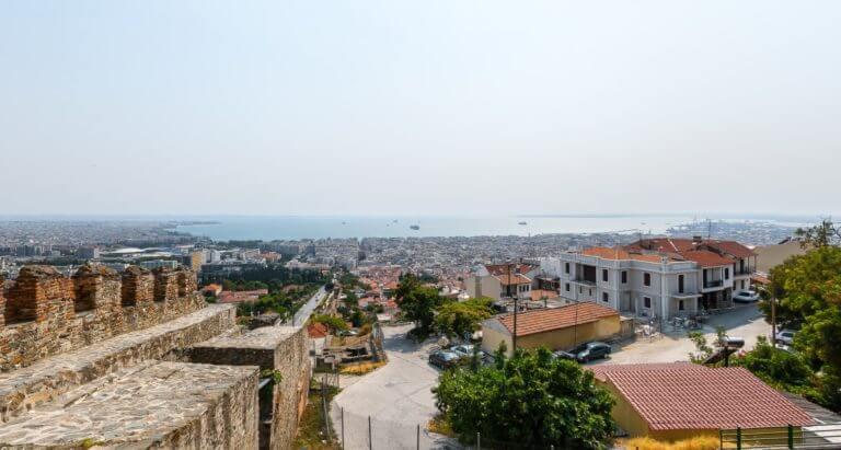 Κάστρα Θεσσαλονίκης με Ταξί