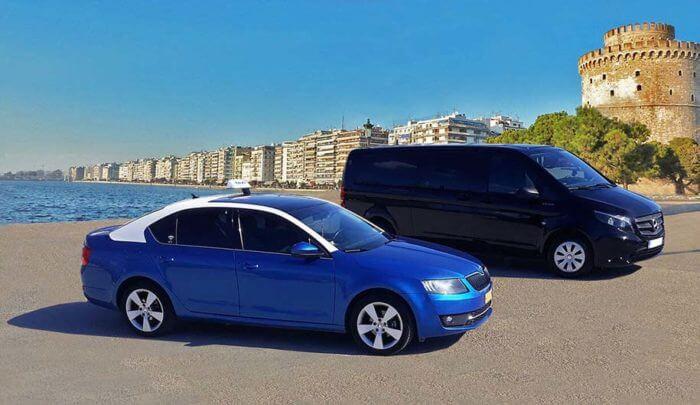 Van Taxi Thessaloniki Transfers to Halkidiki