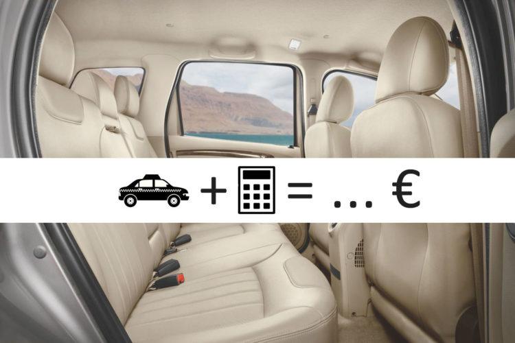 Κόστος Βαν ή Ταξί